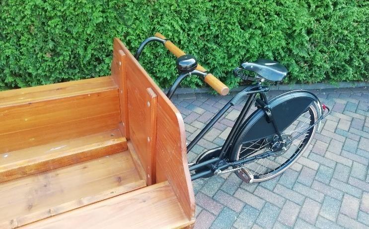 Rouwvervoer, rouwbakfiets, bijzonder, fiets